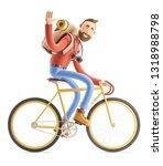 3d illustration. cartoon...   Shutterstock . vector #1318988798