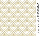 interlaced thin line ornament.... | Shutterstock .eps vector #1319018765