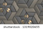 3d Soft Geometry Tiles Made...