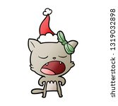 hand drawn gradient cartoon of... | Shutterstock .eps vector #1319032898