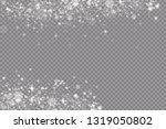 glow light effect. vector... | Shutterstock .eps vector #1319050802