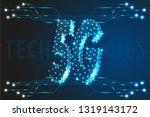 5g global network technology... | Shutterstock .eps vector #1319143172