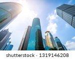 bottom view of modern... | Shutterstock . vector #1319146208