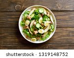 tuna salad with slices of...   Shutterstock . vector #1319148752