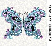 decorative fantasy vintage... | Shutterstock . vector #131918858