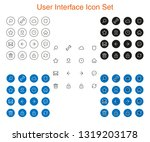 user interface  ui icon set...