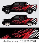 truck decal graphic wrap vector ... | Shutterstock .eps vector #1319250998