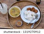 Stock photo nam prik pla tu thai style food 1319270912