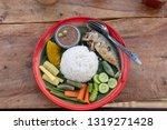Stock photo nam prik pla tu thai style food 1319271428