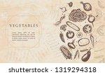 vegetables. renaissance...   Shutterstock .eps vector #1319294318