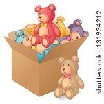 Illustration Of A Box Full Of...