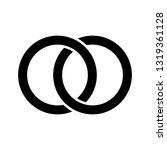 interlocking circles  rings... | Shutterstock .eps vector #1319361128