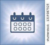calendar icon vector for...