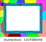 photo frame for internet   Shutterstock .eps vector #1319388548