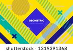 bright abstract pop art style... | Shutterstock .eps vector #1319391368