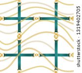 fashion seamless pattern with... | Shutterstock .eps vector #1319402705