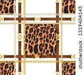 chain seamless pattern with... | Shutterstock .eps vector #1319404145