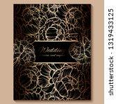 antique royal luxury wedding...   Shutterstock .eps vector #1319433125