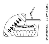 american football sport game...   Shutterstock .eps vector #1319464358