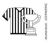 baseball tshirt sport wear with ...   Shutterstock .eps vector #1319465942