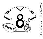 american football sport game...   Shutterstock .eps vector #1319465945