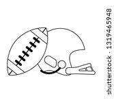american football sport game...   Shutterstock .eps vector #1319465948