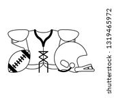 american football sport game...   Shutterstock .eps vector #1319465972