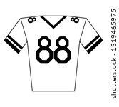 american football tshirt wear...   Shutterstock .eps vector #1319465975