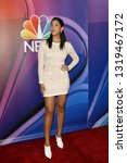 Small photo of LOS ANGELES - FEB 20: Stephanie Beatriz at the NBC's Los Angeles Mid-Season Press Junket at the NBC Universal Lot on February 20, 2019 in Universal City, CA