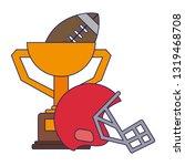 american football sport game...   Shutterstock .eps vector #1319468708