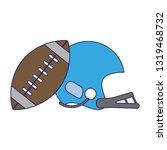 american football sport game...   Shutterstock .eps vector #1319468732