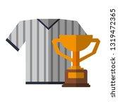 baseball tshirt sport wear with ...   Shutterstock .eps vector #1319472365