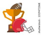 american football sport game   Shutterstock .eps vector #1319472368
