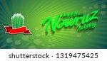 holiday nowruz  happy nowruz... | Shutterstock .eps vector #1319475425