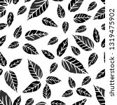 pattern seamless drawn by hand  ... | Shutterstock .eps vector #1319475902