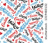 pattern with lettering of... | Shutterstock .eps vector #1319483132