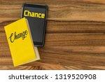 analogous book and digital... | Shutterstock . vector #1319520908
