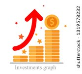 sustainability growth ... | Shutterstock .eps vector #1319578232