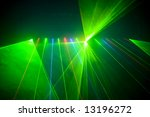 colourful disco lighting is... | Shutterstock . vector #13196272