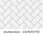 Stock vector elegant and sleek herringbone repeat vector pattern ideal for backgrounds paper textile 1319655755
