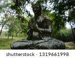 ancient buddha statue in sri... | Shutterstock . vector #1319661998