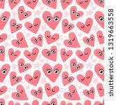 seamless pattern background... | Shutterstock .eps vector #1319663558