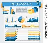 infographics elements... | Shutterstock .eps vector #131974556
