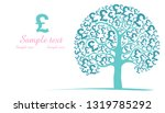 sterling. white background with ... | Shutterstock .eps vector #1319785292