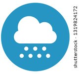 clouds vector icon which can... | Shutterstock .eps vector #1319824172