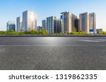 panoramic skyline and modern... | Shutterstock . vector #1319862335