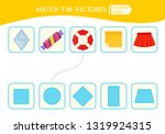 matching children educational... | Shutterstock .eps vector #1319924315