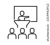 business presentation related...   Shutterstock .eps vector #1319942912