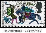 united kingdom   circa 1966  a... | Shutterstock . vector #131997452