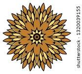 oriental mandala. vintage... | Shutterstock .eps vector #1320039155